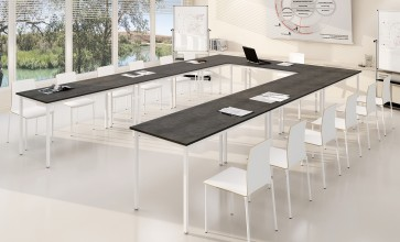 Tables polyvalentes éco rectiligne