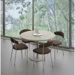 Milo table ronde 1 pied