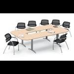 Tables composées piétement « i »-Hetre-120 cm x 60 cm-droits