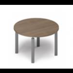 Table de réunion ronde 4 pieds Ø 120